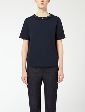 Cotton poplin T-shirt