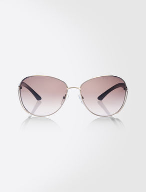 Butterfly metal frame sunglasses
