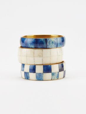 Decorated metal bracelet