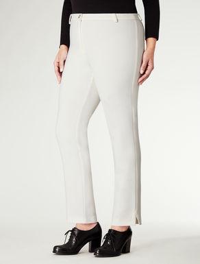 Pantalone slim in lana
