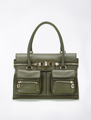 Margaux leather cargo-bag