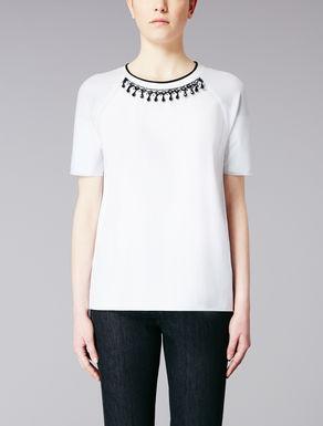 T-Shirt aus Baumwollpopelin