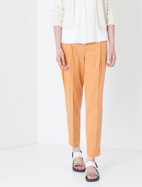 Pantaloni carrot fit di twill stretch