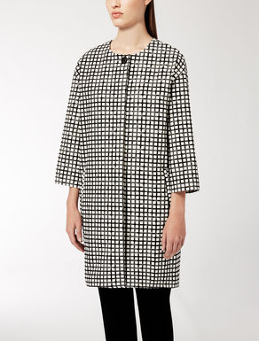 Cotton jacquard coat