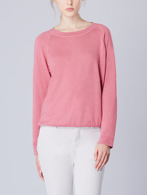 Round neck knit shirt