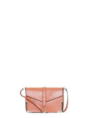 Mini borsa a tracolla di pelle