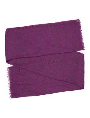 Sciarpa stampata con passamaneria