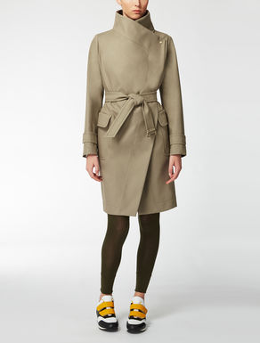 Cotton trench coat