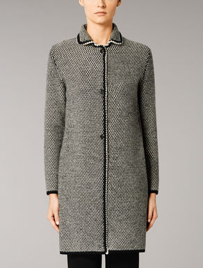 Wool and cashmere coat.