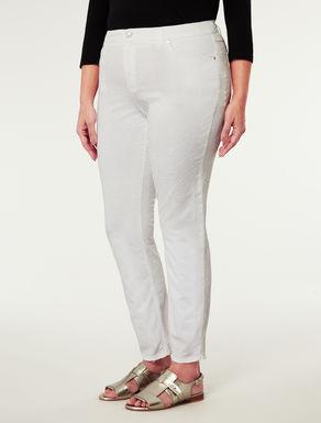 Pantalone in gabardine