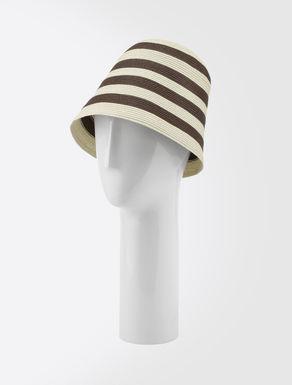 Textile paper hat