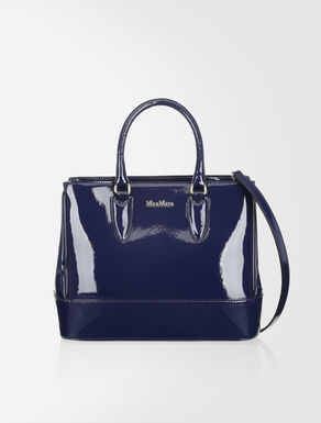 Small patent leather Ginevra bag
