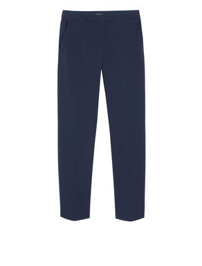 Pantaloni slim fit di tessuto stretch