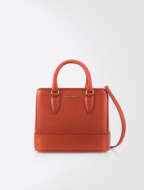Mini Ginevra leather bag