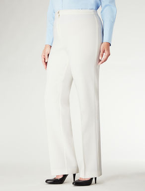 Pantalone in lana elastica