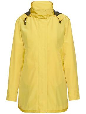 Padded jacket with waistcoat