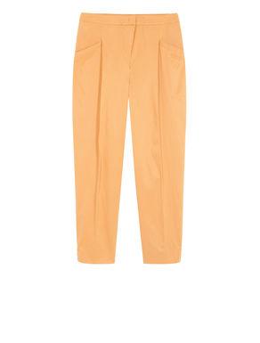 Pantaloni carrot fit di twill stretch