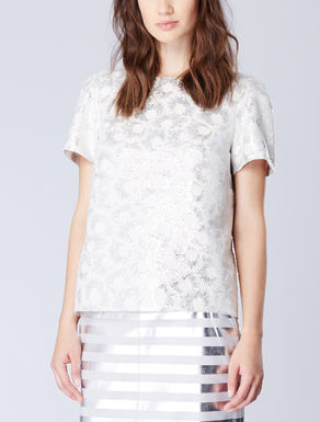 Top boxy jacquard
