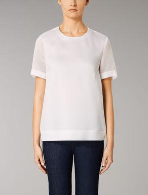 Silk organza t-shirt