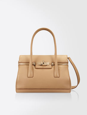 Mini Margaux leather bag