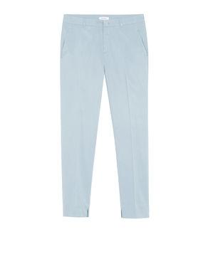 Pantaloni slim fit di twill stretch