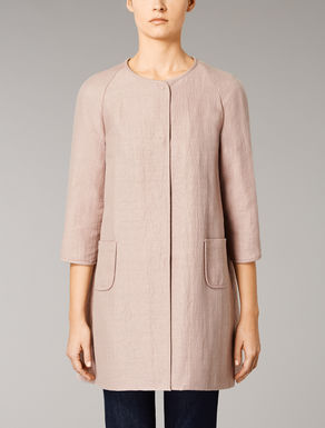 Cotton Ottoman duster coat