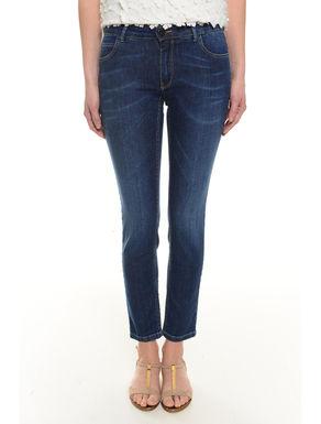 Pantalone skinny in denim