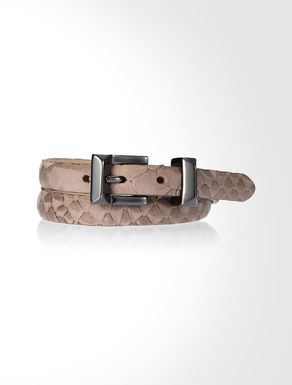 Double band leather bracelet