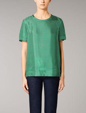 T-shirt en twill de soie
