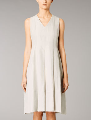 Ramie and cotton dress