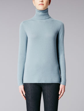Pure cashmere turtleneck top