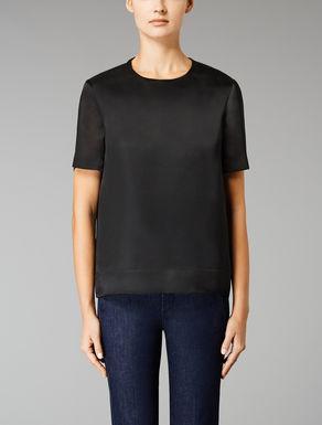 T-shirt en organza de soie