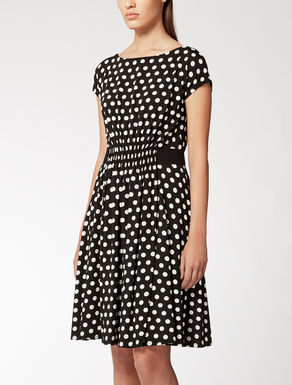 Stretchy viscose jersey dress