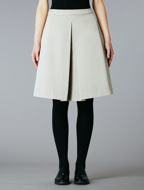 Cotton duchesse skirt