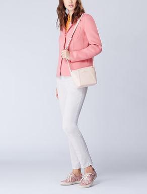 Double wool hand-sewn blazer