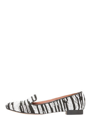 Slippers con perline all-over
