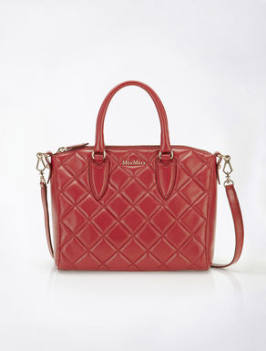 Ginevra leather matelass_ satchel