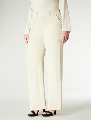 Pantalone in seta lavata