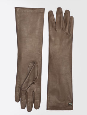 Long nappa gloves