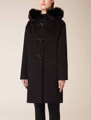 Pure wool duffle coat