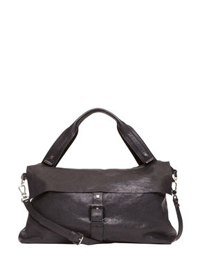 Maxi leather tote bag