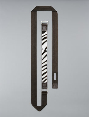 Ponyskin printed belt
