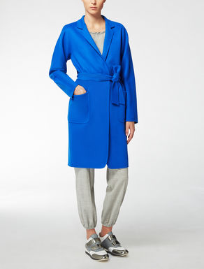 Abrigo en lana y angora