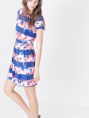 Corolla Dress con paillettes all-over