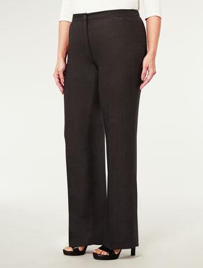 Pantalone ampio classico in lino
