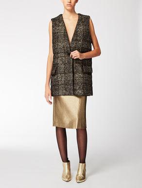 Wool, alpaca and mohair waistcoat