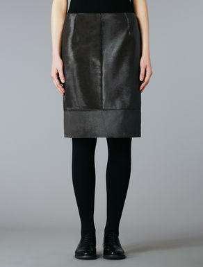 Ponyskin skirt