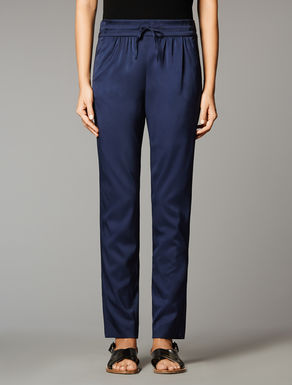 Viscose twill trousers