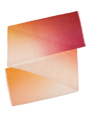 Stola di cotone/modal sfumato