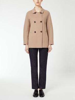 Boxy pure wool jacket